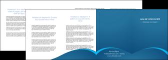 modele en ligne depliant 4 volets  8 pages  web design texture contexture structure MLGI95131