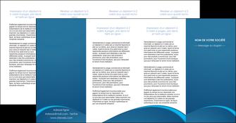 personnaliser maquette depliant 4 volets  8 pages  web design texture contexture structure MLGI95135