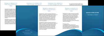 exemple depliant 4 volets  8 pages  web design texture contexture structure MLGI95137
