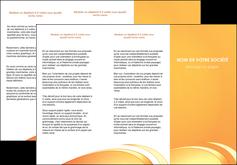 faire depliant 3 volets  6 pages  web design texture contexture structure MLGI95199