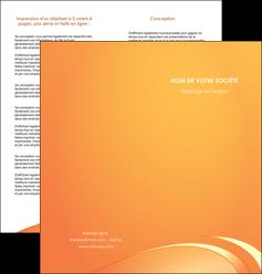 personnaliser modele de depliant 2 volets  4 pages  web design texture contexture structure MLGI95201