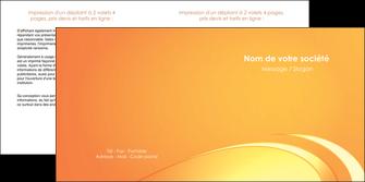 exemple depliant 2 volets  4 pages  web design texture contexture structure MLGI95203