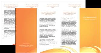 personnaliser modele de depliant 4 volets  8 pages  web design texture contexture structure MLGI95239