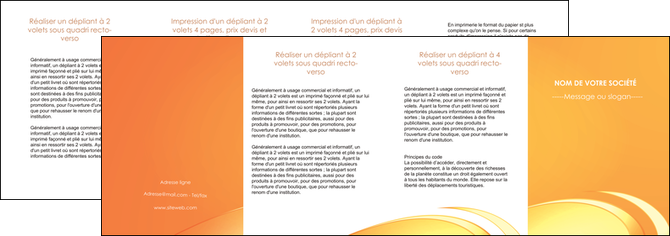 faire depliant 4 volets  8 pages  web design texture contexture structure MLGI95241