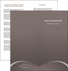 faire modele a imprimer depliant 2 volets  4 pages  web design texture contexture structure MID95253