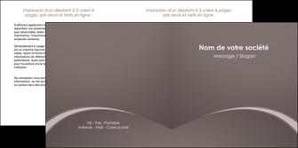 imprimer depliant 2 volets  4 pages  web design texture contexture structure MID95255