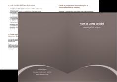 impression depliant 2 volets  4 pages  web design texture contexture structure MID95265