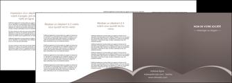personnaliser modele de depliant 4 volets  8 pages  web design texture contexture structure MID95287