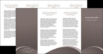 imprimer depliant 4 volets  8 pages  web design texture contexture structure MID95291