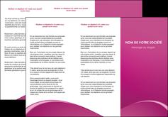 personnaliser modele de depliant 3 volets  6 pages  web design texture contexture structure MLGI95303