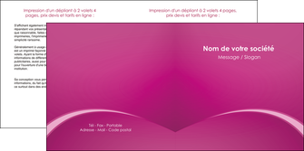cree depliant 2 volets  4 pages  web design texture contexture structure MLGI95307