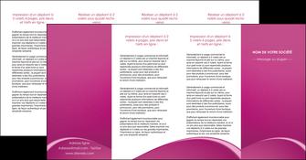 creer modele en ligne depliant 4 volets  8 pages  web design texture contexture structure MLGI95343