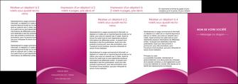 imprimerie depliant 4 volets  8 pages  web design texture contexture structure MLGI95345