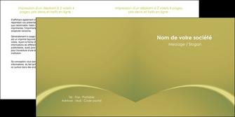 impression depliant 2 volets  4 pages  web design texture contexture structure MLGI95359