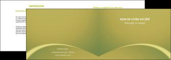 realiser depliant 2 volets  4 pages  web design texture contexture structure MLGI95373