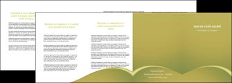 imprimer depliant 4 volets  8 pages  web design texture contexture structure MLGI95391