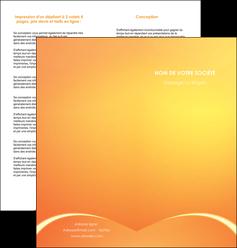 imprimerie depliant 2 volets  4 pages  telephonie texture contexture structure MLGI95409