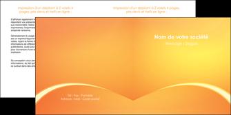 modele depliant 2 volets  4 pages  telephonie texture contexture structure MLGI95411