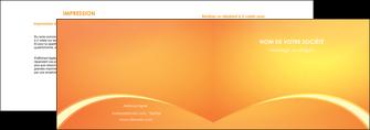 modele en ligne depliant 2 volets  4 pages  telephonie texture contexture structure MLGI95425