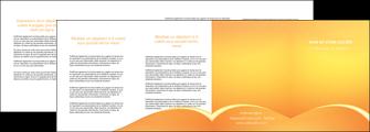 maquette en ligne a personnaliser depliant 4 volets  8 pages  telephonie texture contexture structure MLGI95443