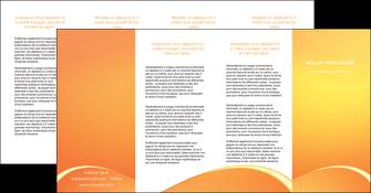 personnaliser modele de depliant 4 volets  8 pages  telephonie texture contexture structure MLGI95447