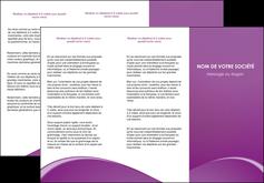 personnaliser modele de depliant 3 volets  6 pages  telephonie texture contexture structure MLGI95459