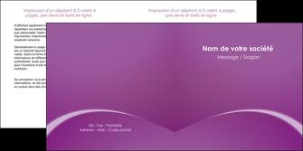 imprimerie depliant 2 volets  4 pages  telephonie texture contexture structure MLGI95463