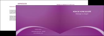 imprimer depliant 2 volets  4 pages  telephonie texture contexture structure MLGI95477