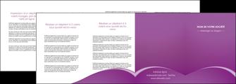 personnaliser modele de depliant 4 volets  8 pages  telephonie texture contexture structure MLGI95495