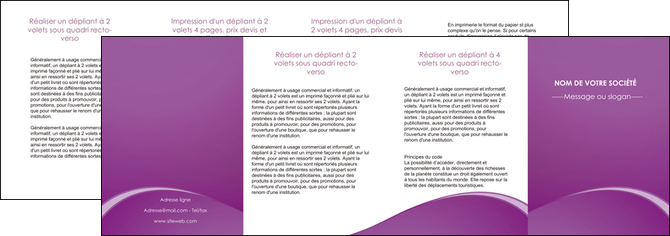 impression depliant 4 volets  8 pages  telephonie texture contexture structure MLGI95501