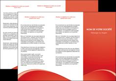 imprimerie depliant 3 volets  6 pages  web design texture contexture structure MLGI95511