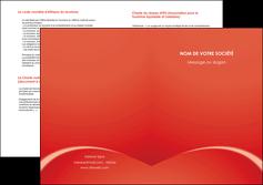 cree depliant 2 volets  4 pages  web design texture contexture structure MIDCH95525
