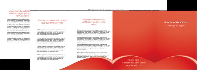 realiser depliant 4 volets  8 pages  web design texture contexture structure MLGI95547