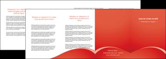 realiser depliant 4 volets  8 pages  web design texture contexture structure MIDCH95547
