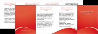 faire modele a imprimer depliant 4 volets  8 pages  web design texture contexture structure MIDCH95553