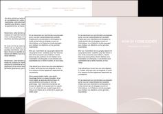 impression depliant 3 volets  6 pages  web design texture contexture structure MIF95563