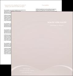 modele en ligne depliant 2 volets  4 pages  web design texture contexture structure MIF95565