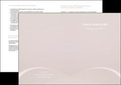 imprimer depliant 2 volets  4 pages  web design texture contexture structure MIF95577