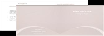 cree depliant 2 volets  4 pages  web design texture contexture structure MIF95581