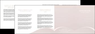 exemple depliant 4 volets  8 pages  web design texture contexture structure MIF95599