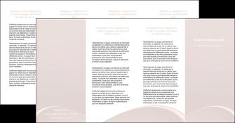 personnaliser modele de depliant 4 volets  8 pages  web design texture contexture structure MIF95603