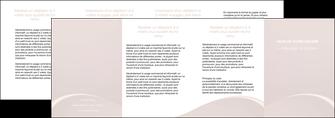 impression depliant 4 volets  8 pages  web design texture contexture structure MIF95605