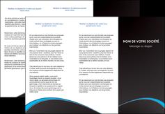 realiser depliant 3 volets  6 pages  texture contexture structure MIF95615