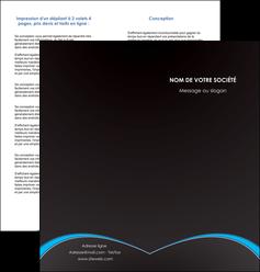 faire modele a imprimer depliant 2 volets  4 pages  texture contexture structure MIF95617