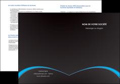 creation graphique en ligne depliant 2 volets  4 pages  texture contexture structure MIF95629
