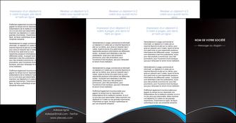 cree depliant 4 volets  8 pages  texture contexture structure MIF95655