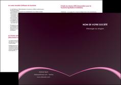 realiser depliant 2 volets  4 pages  reseaux texture contexture structure MLGI95733