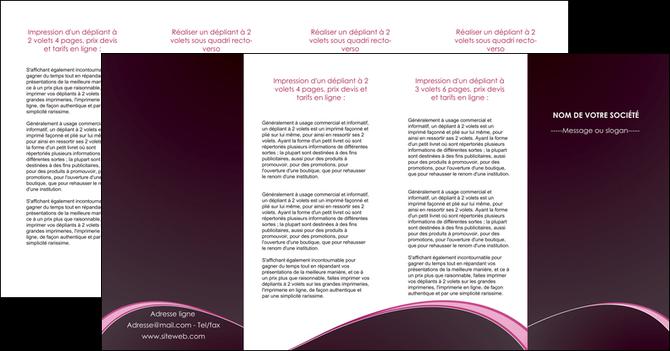 modele en ligne depliant 4 volets  8 pages  reseaux texture contexture structure MLGI95759
