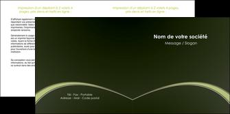 personnaliser modele de depliant 2 volets  4 pages  web design texture contexture structure MID95775