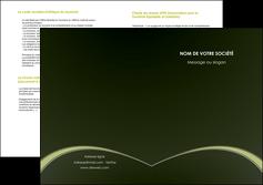realiser depliant 2 volets  4 pages  web design texture contexture structure MID95785